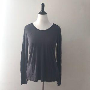 Cynthia Rowley silk blend top